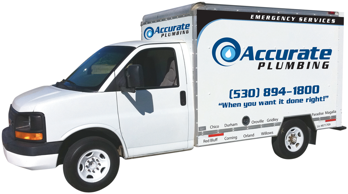 Accurate Plumbing Truck